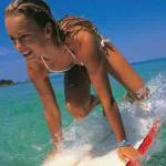 Yoga Surfer Girl